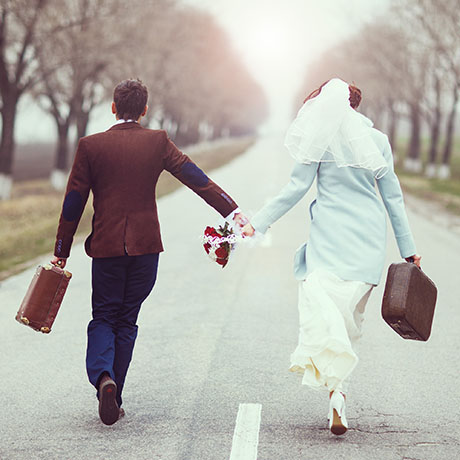 Eloping Couple