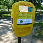 sunscreen dispenser