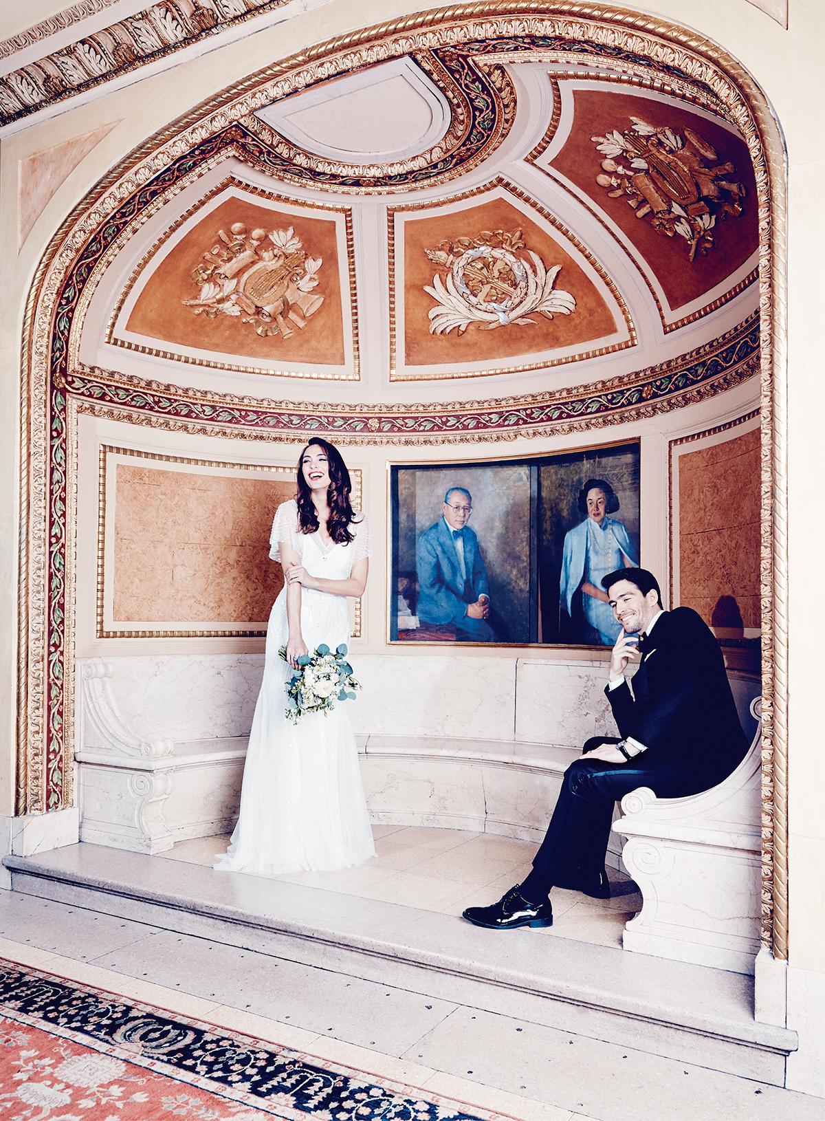 dramatic wedding gowns