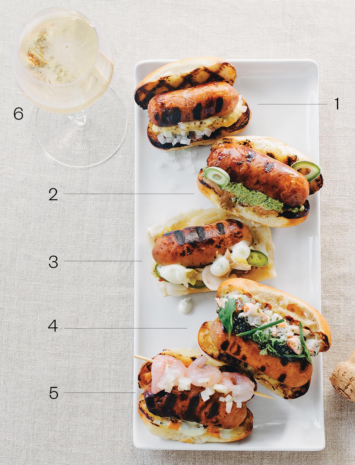 menton hot dogs