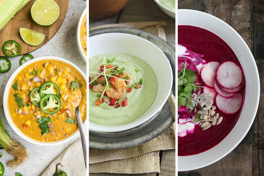 14 Healthy Summer Soup Recipes 14 Healthy Summer Soup Recipes  soup recipes