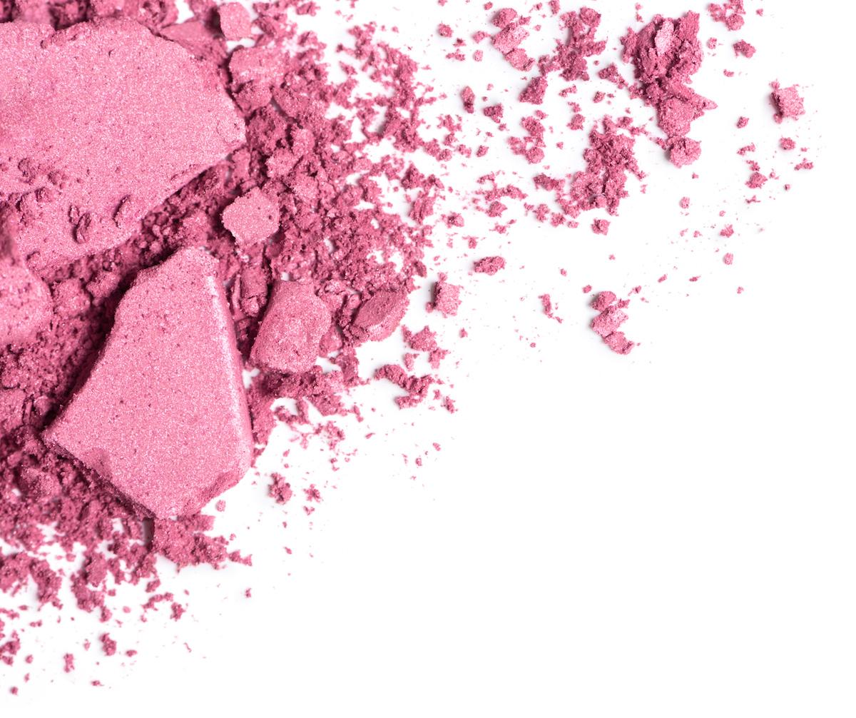 PInk blush via Shutterstock