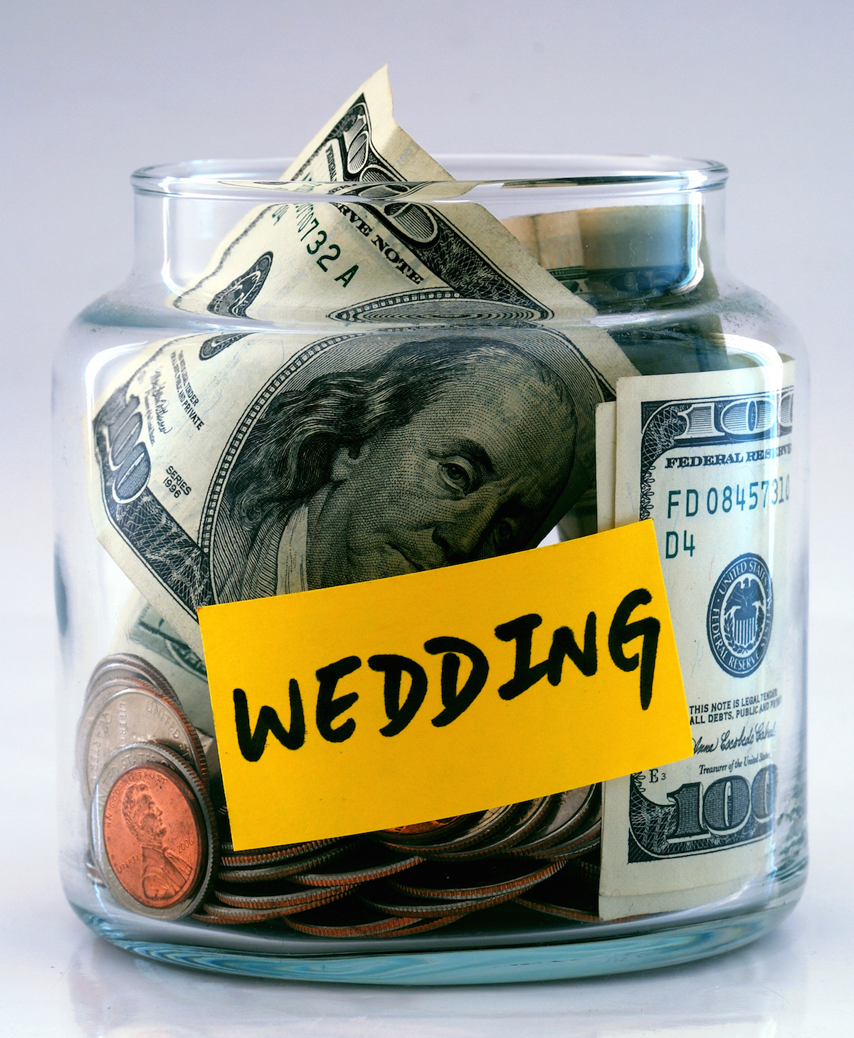 Wedding fund photo via Shutterstock