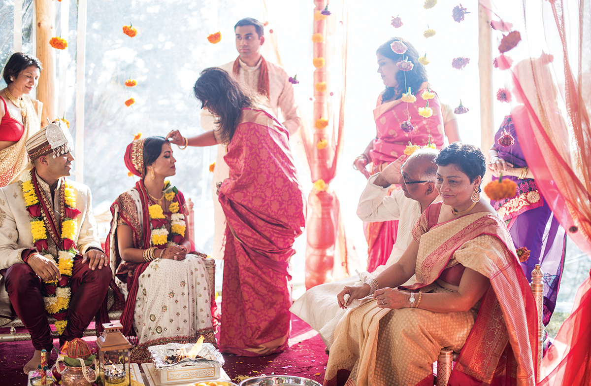 Shweta Motiwala and Nikhil Wagle wedding
