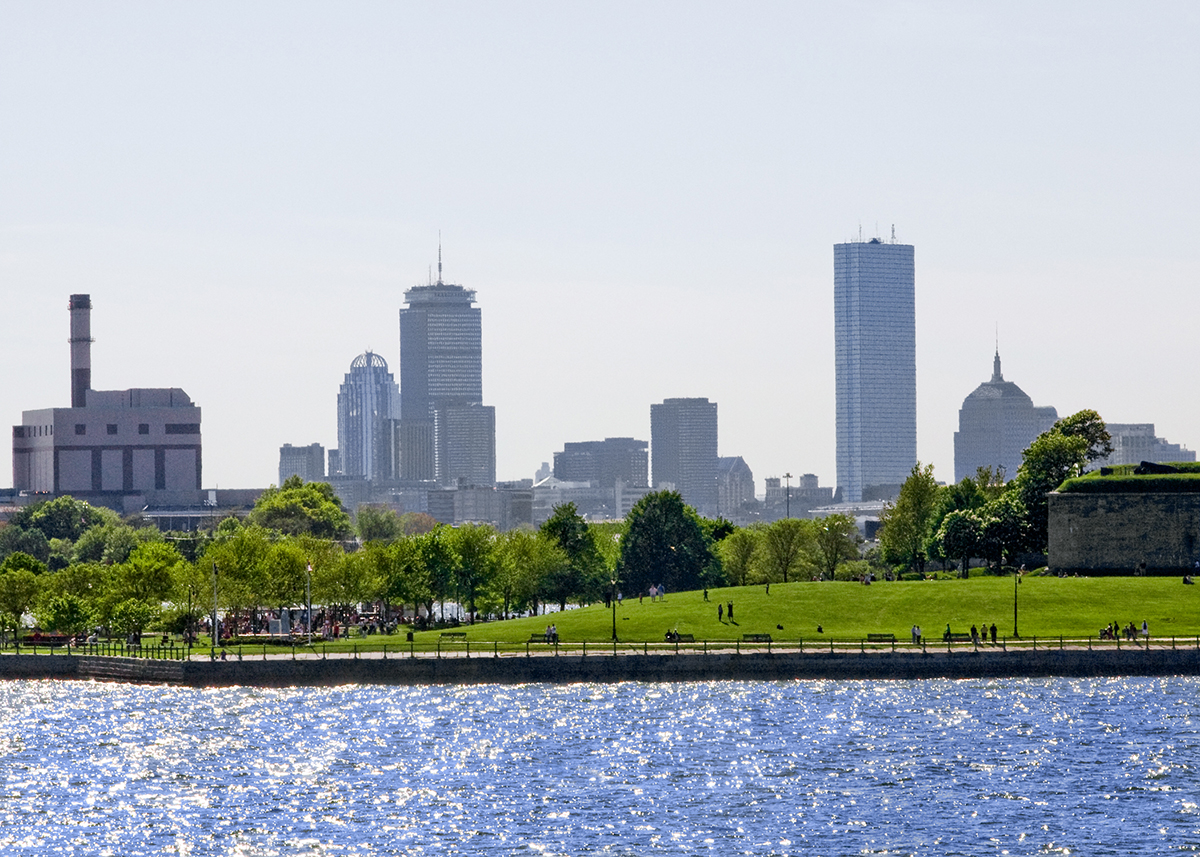 Boston Skyline from Castle Island by David Fox on Flickr/Creative Commons