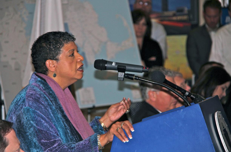 Former MBTA GM Beverly Scott photo courtesy of  MassDOT