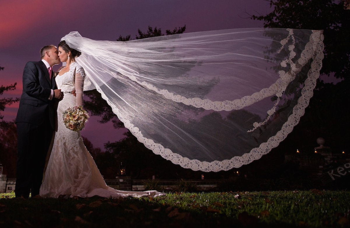 Allegria Veil/Photograph by Ellys Photography