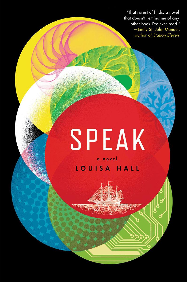 Cover of Louisa Hall's Speak.