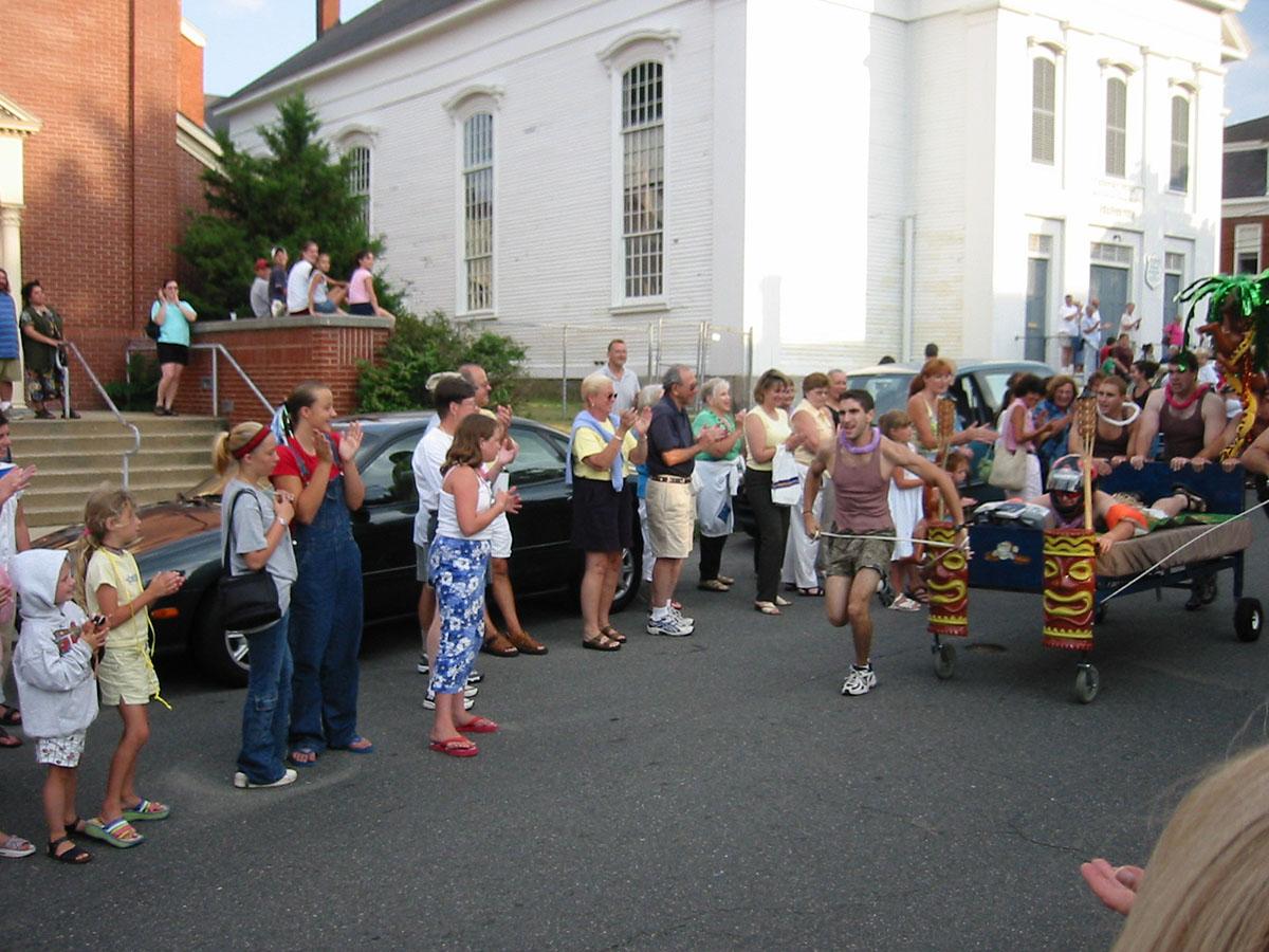 Newburyport Bed Races