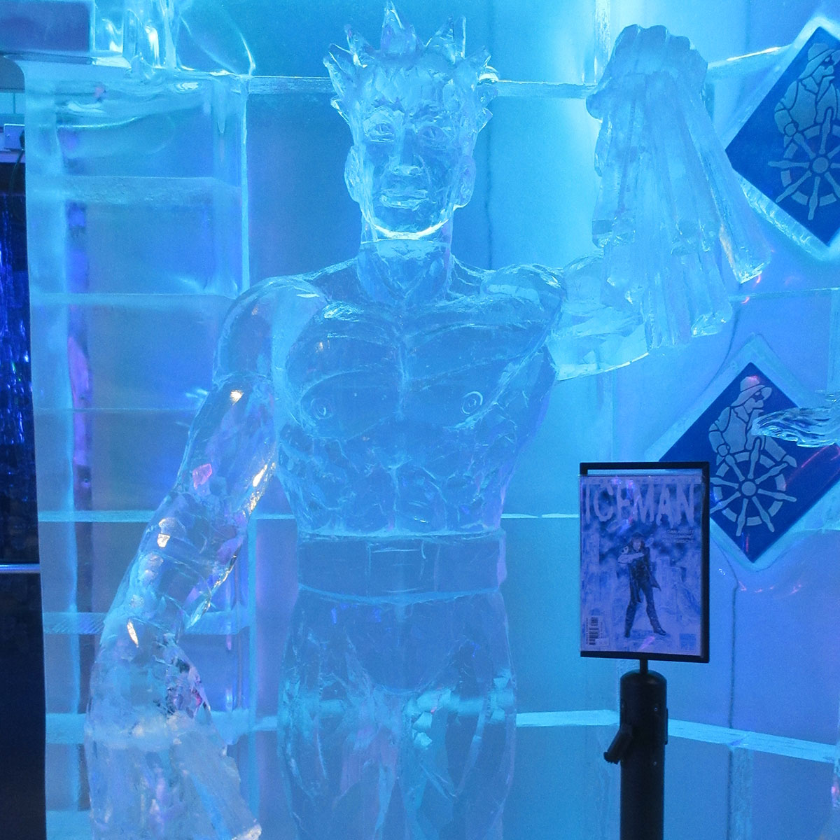 Iceman at Frost Ice Bar