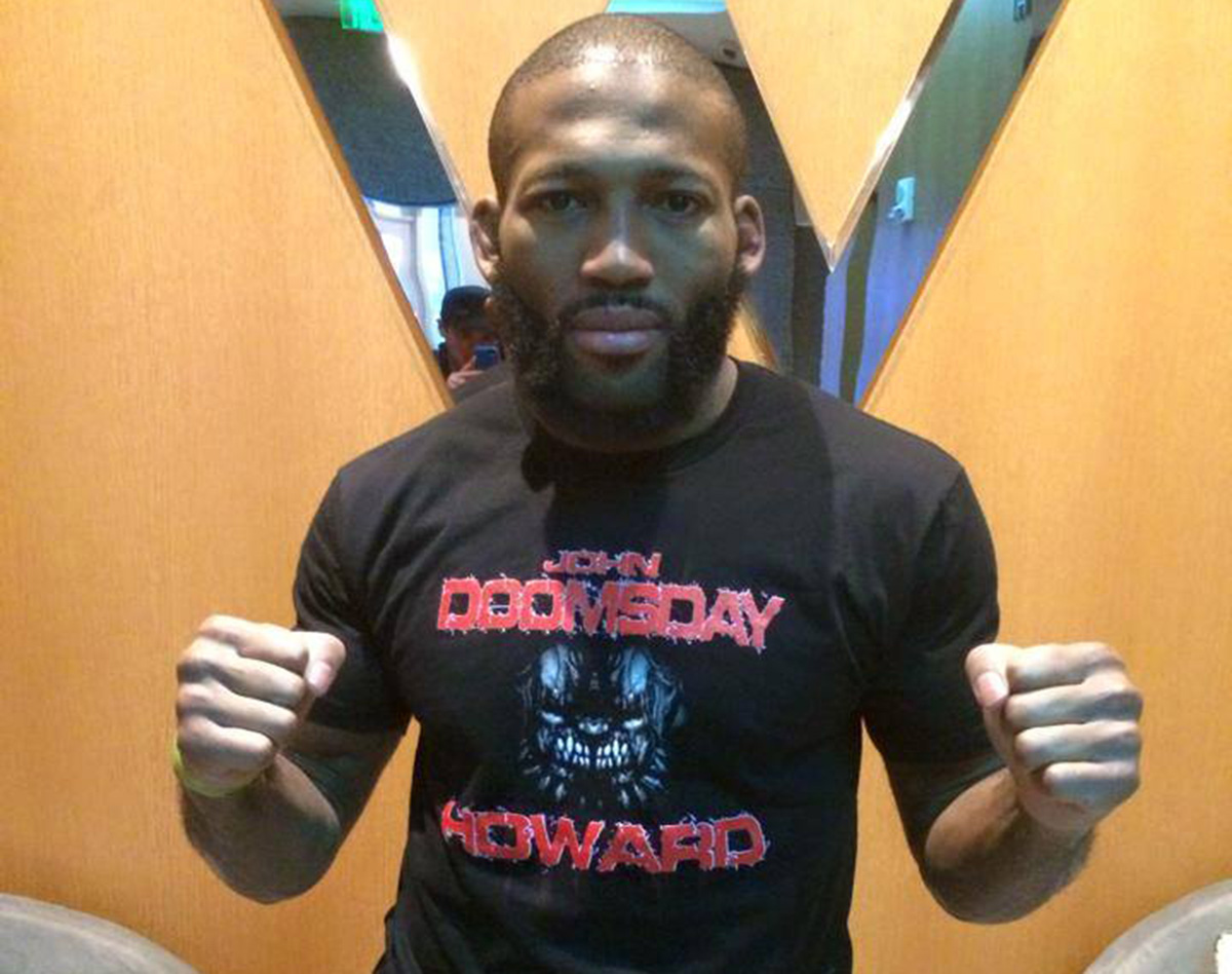 UFC Welterweight John Howard of Dorchester Via John Howard