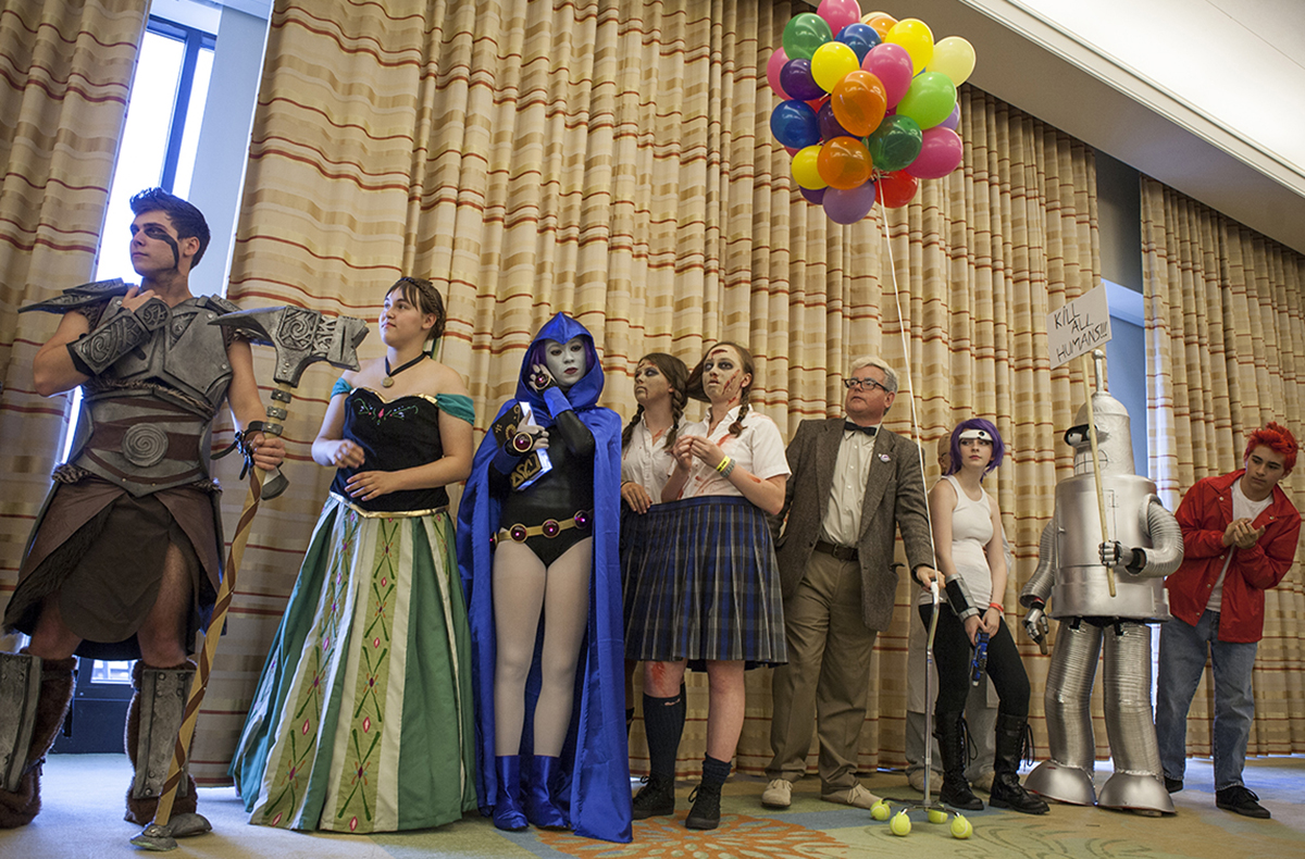 Winners from the 2014 Boston Comic Con costume contest