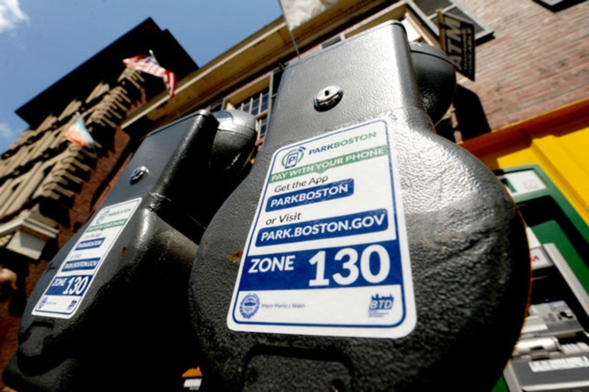Parking Meters via City of Boston.