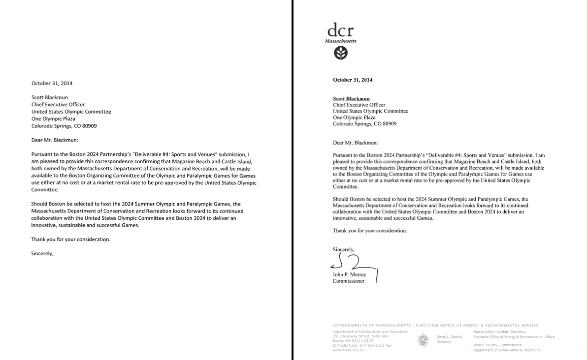 How the dcr signed over castle island to boston 2024 with a rubber dcr letter spiritdancerdesigns Gallery