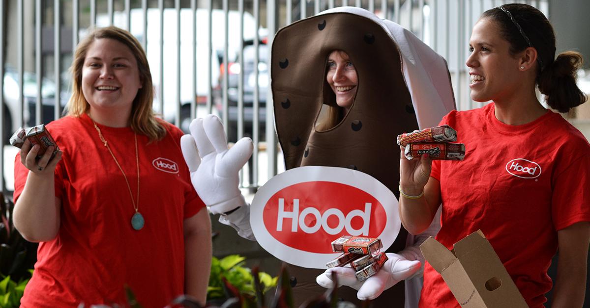 Hood Ice Cream. / Photo provided.