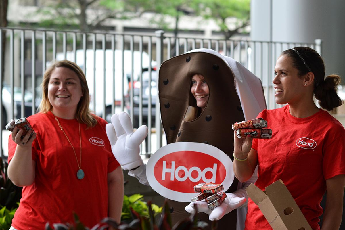 free hood ice cream sandwiches boston