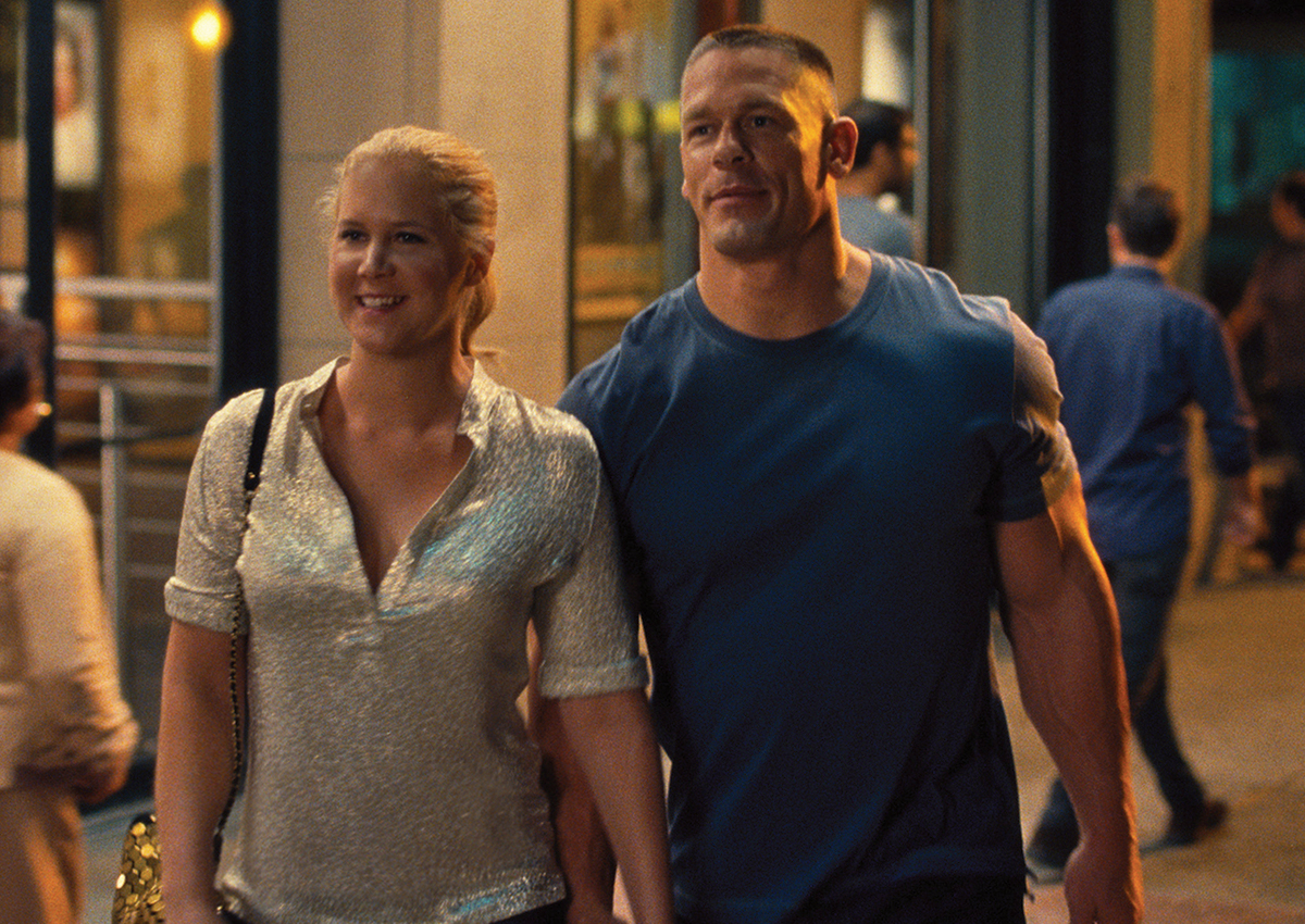 Amy Schumer Tit Pics john cena embraces his comedic side in 'trainwreck'