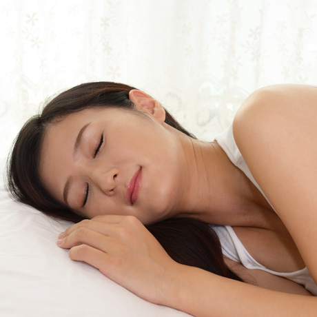 460 shutterstock_Woman in sleeping
