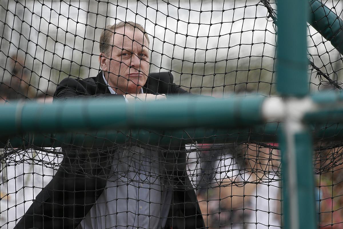 Curt Schilling Photo by Tony Gutierrez / AP