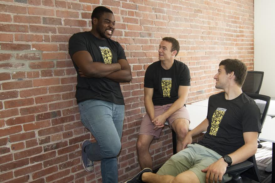 BevSpot Cofounders Chidubem Ezeaka, Rory Crawford, and Alex Lesman | Image Provided