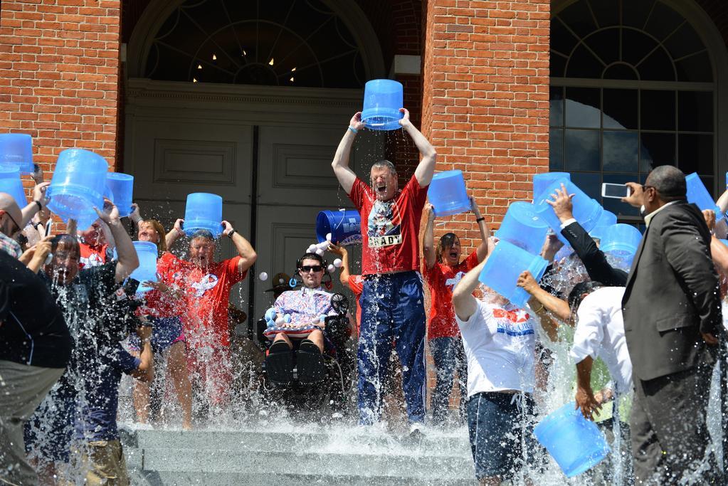 Charlie Baker Ice Bucket Challenge