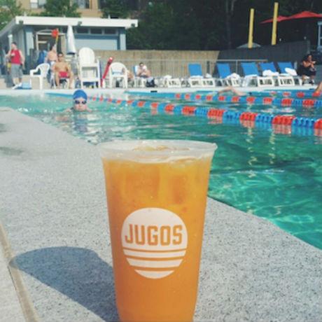 Jugos Con Amigos Pop-Up Pool Party