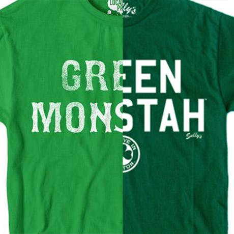 Green Monstah shirt
