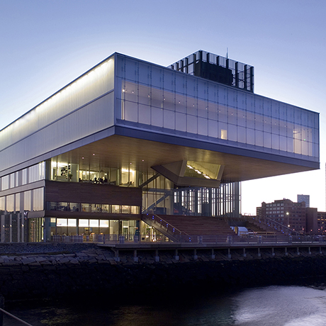 The Institute of Contemporary Art/Boston Diller Scofidio + Renfro Architects Photo: Peter Vanderwarker