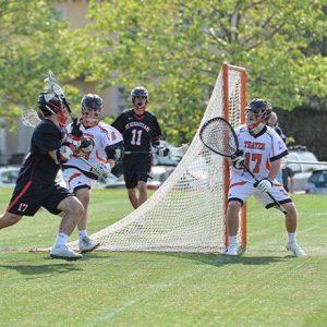 Sam Knollmeyer lacrosse Thayer Academy sq