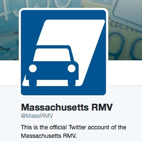 Oh god the rmv is now on twitter boston magazine for Massachusetts registry of motor
