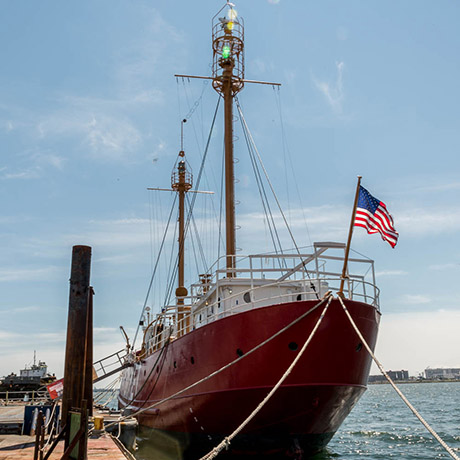 Nantucket Lightship sq
