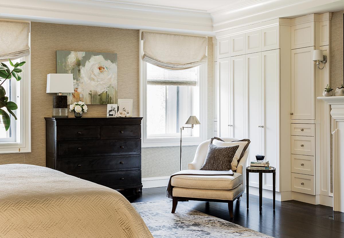 back bay penthouse bedroom