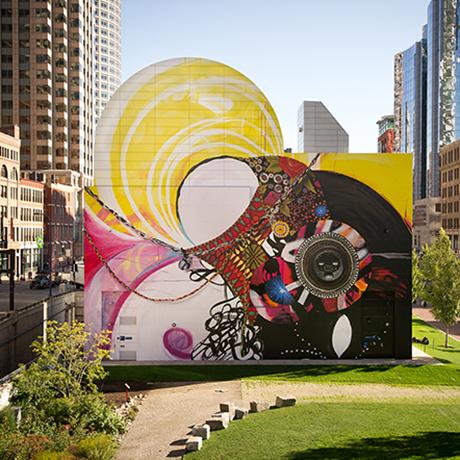 dewey square mural sq