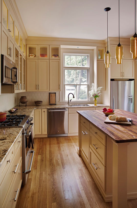 Design inspiration from three kitchen makeovers for Kitchen designs jamaica