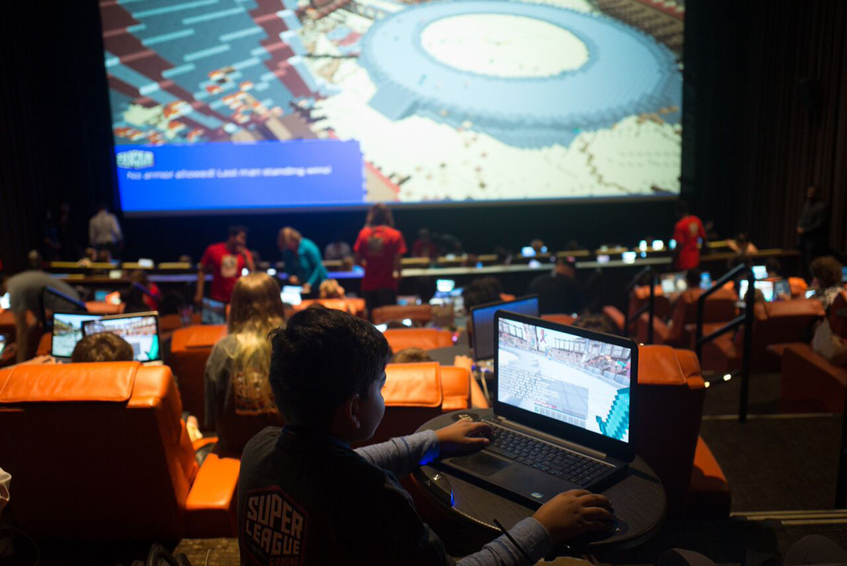 super league gaming minecraft experience