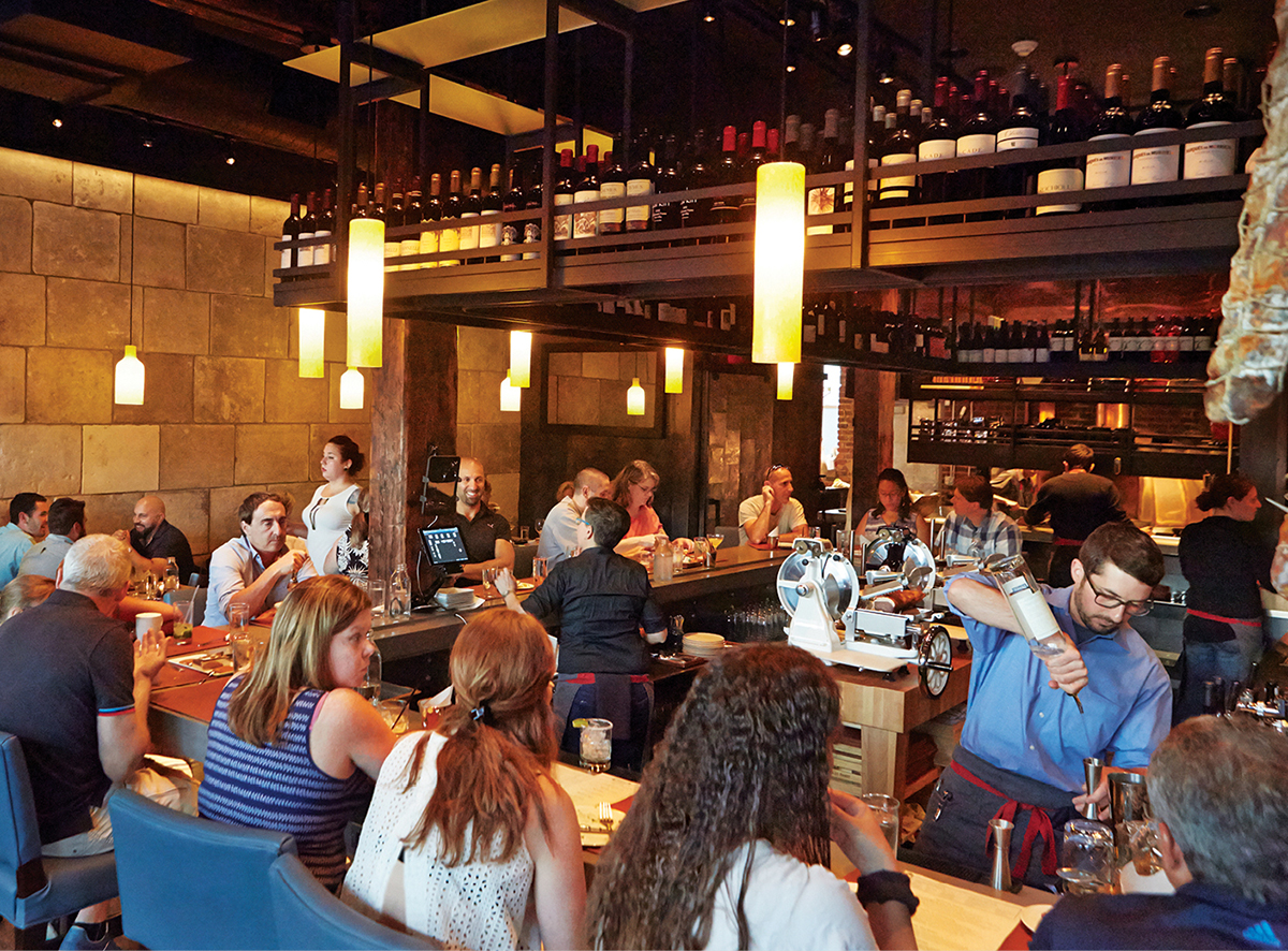 the backroom at moody's restaurant review