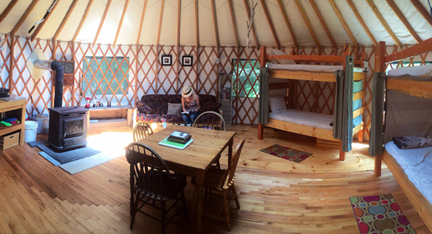 A Guide To Glamping In New England
