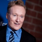 Conan O'Brien arrives at the 24th Annual Beat The Odds Awards on Thursday, Dec. 04, 2014, in Culver City, Calif. (Photo by Richard Shotwell/Invision/AP)