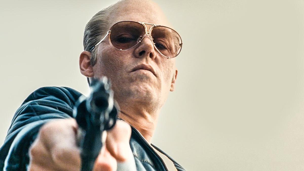 Johnny Depp as Whitey Bulger in Black Mass. Photo by Warner Bros.