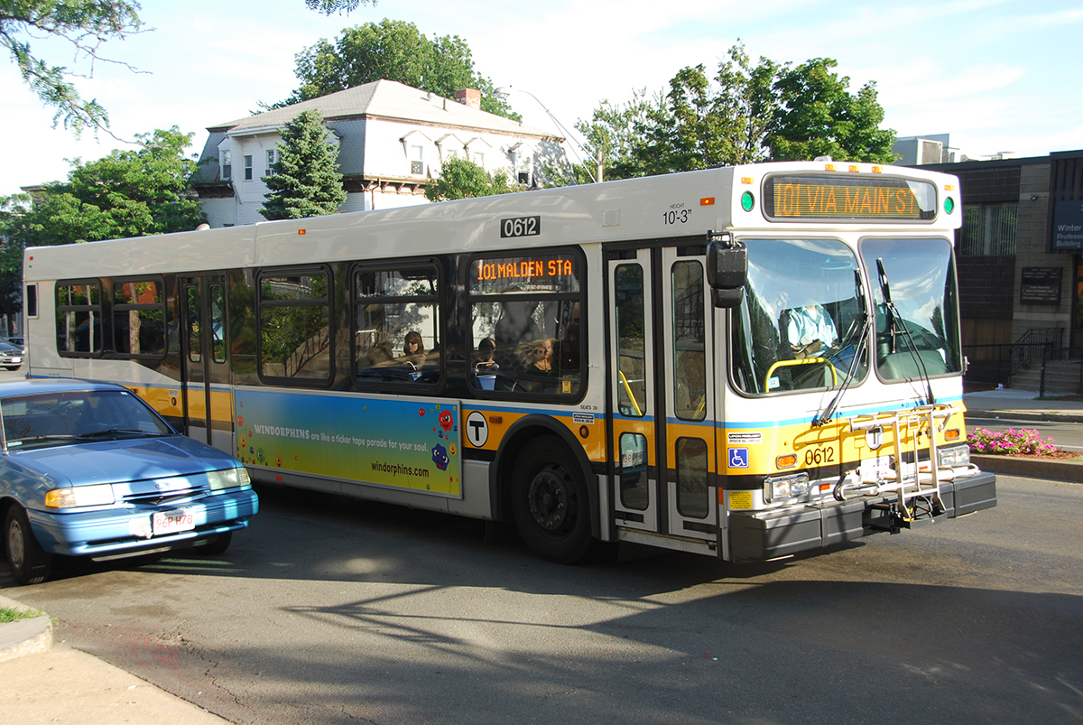 MBTA Bus by Eric Kilby via/ Flickr/Creative Commons