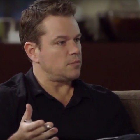Matt Damon Square