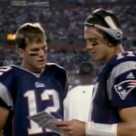 Tom Brady Drew Bledsoe