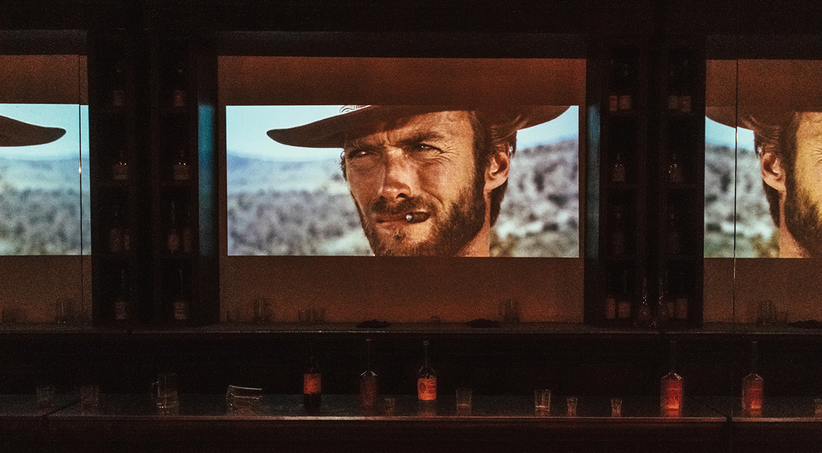 Clint Eastwood in A Fistful of Dollars by Max Bashirov via Flickr