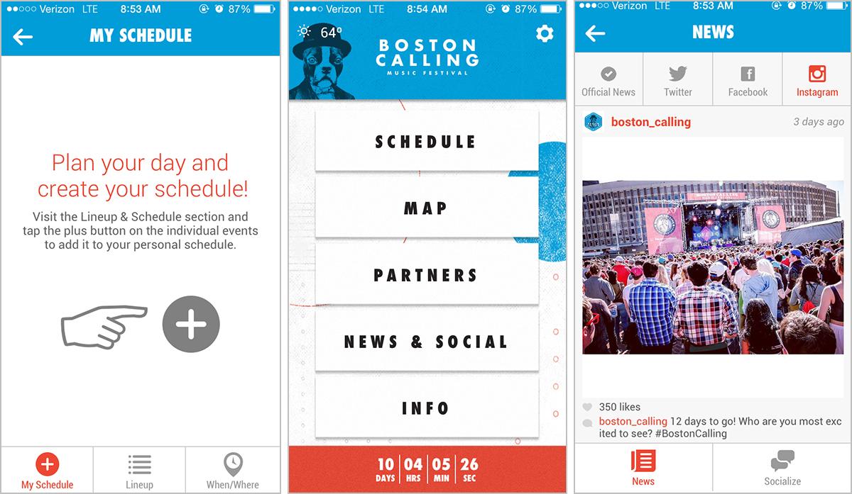 boston calling festival app