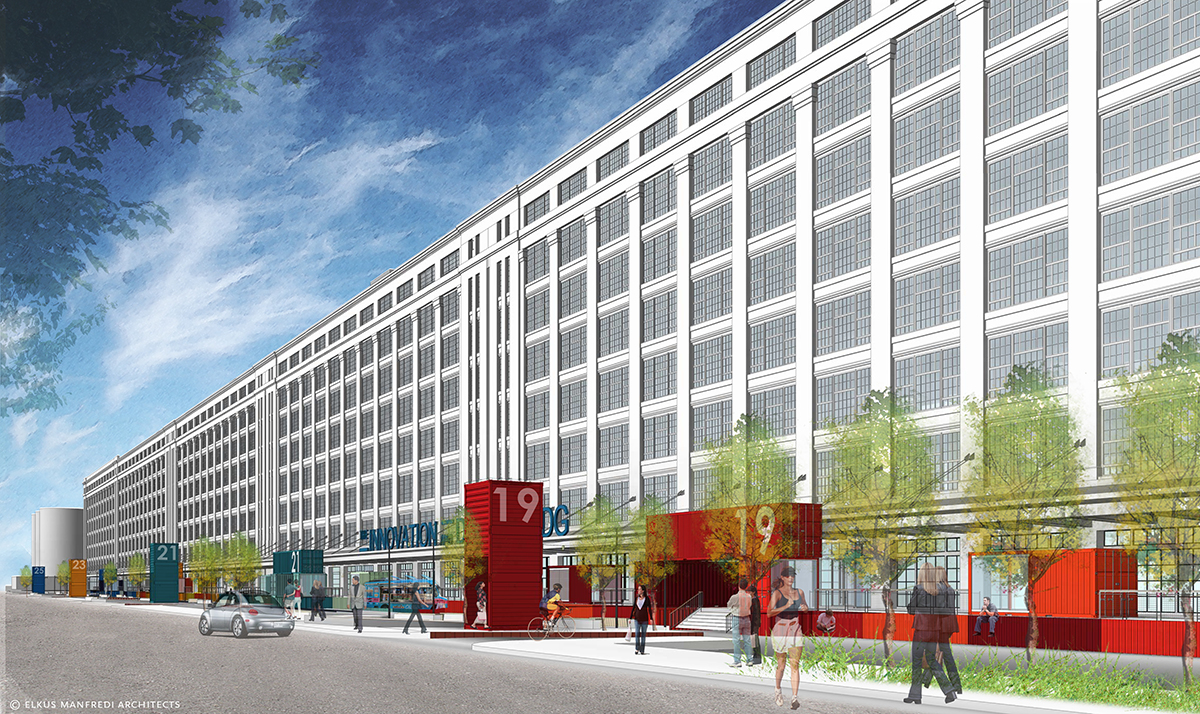 innovation and design building boston shipping containers