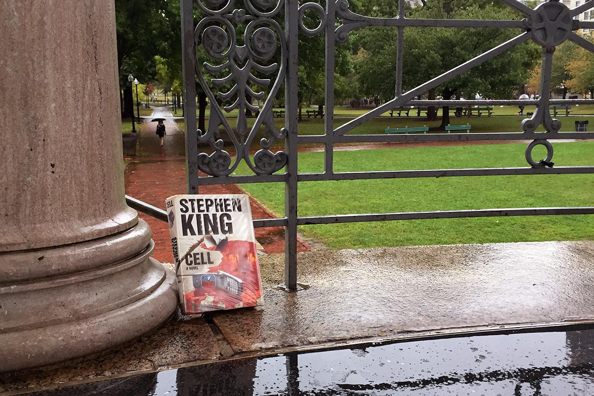 Stephen King Cell Boston Common