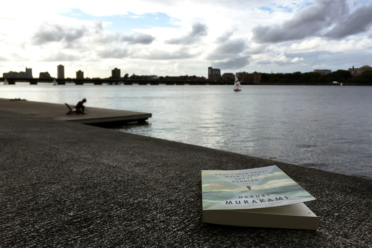 Haruki Murakami What I Talk About When I Talk About Running Charles River