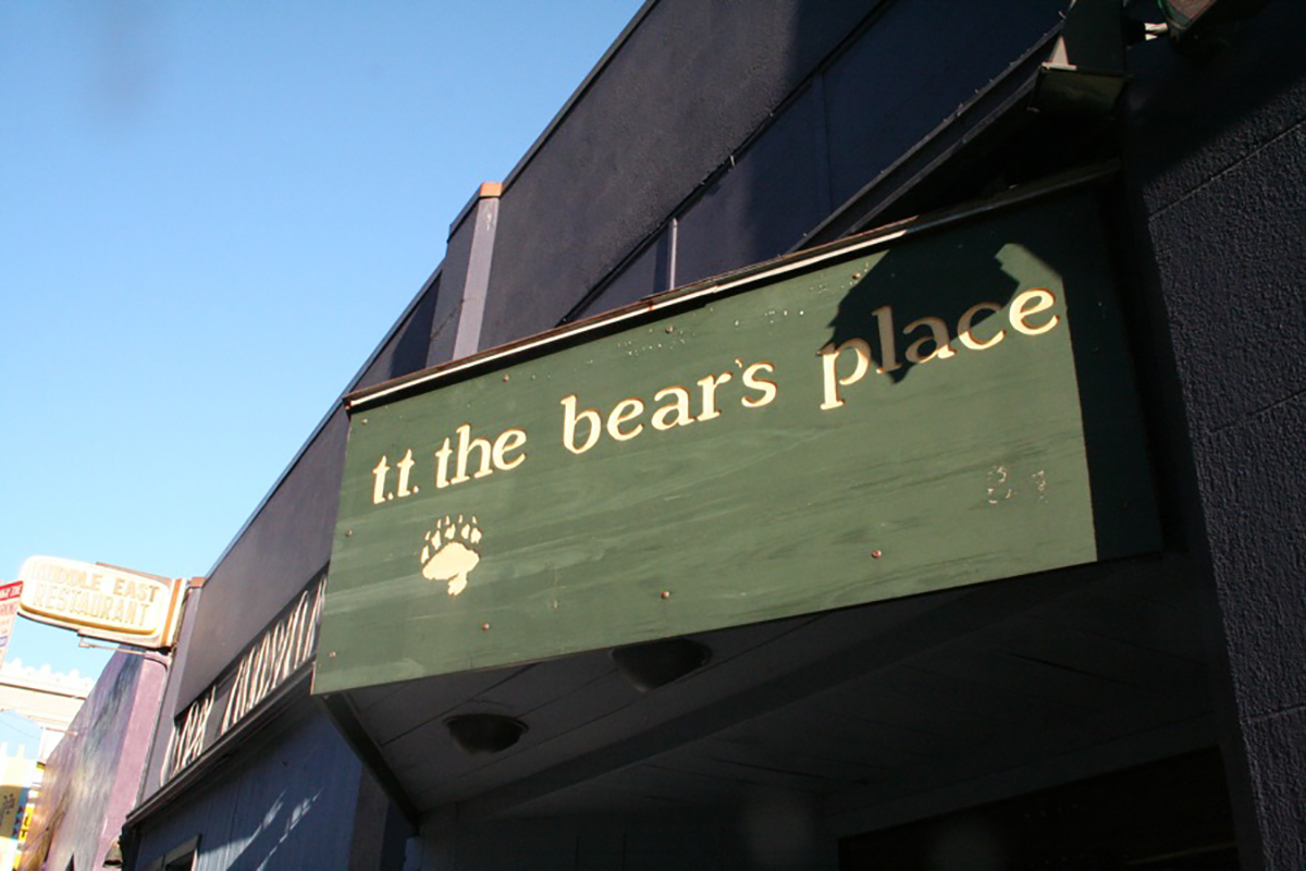 sonia's tt the bear's place