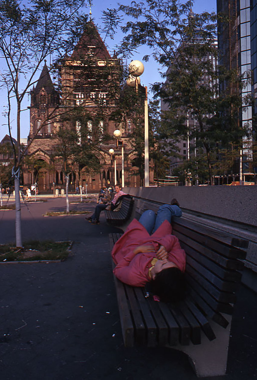 Trinity Church, 1973. Photo by Peter H. Dreyer/City of Boston Archives on Flickr/Creative Commons