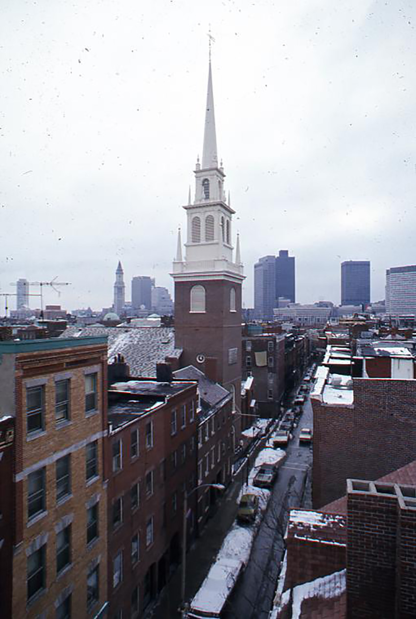 North End, 1976.